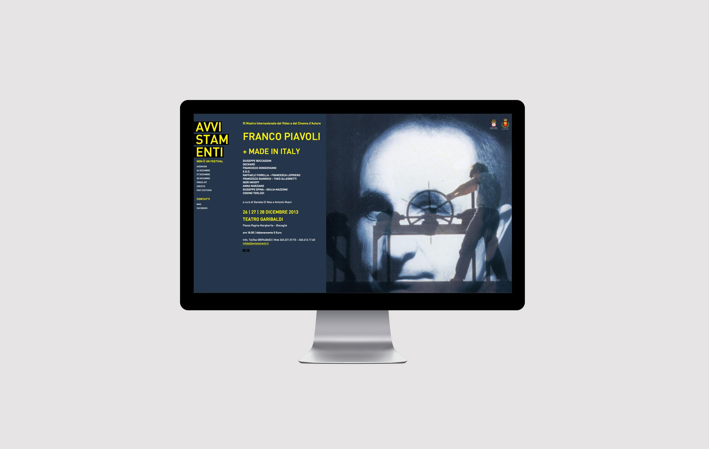 Sito web Avvistamenti 2013