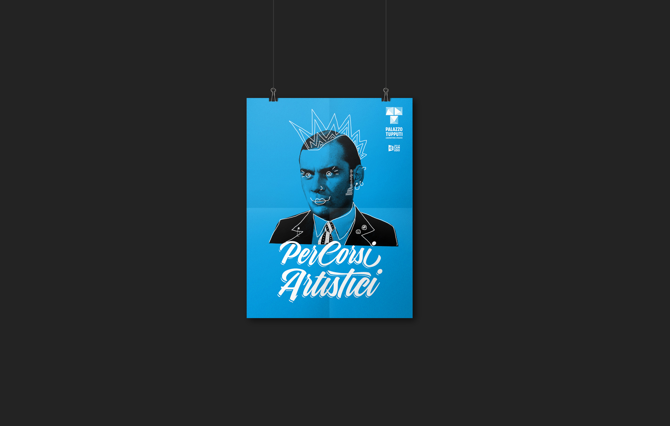 Poster Campagna comunicazione per i PerCorsi Artistici
