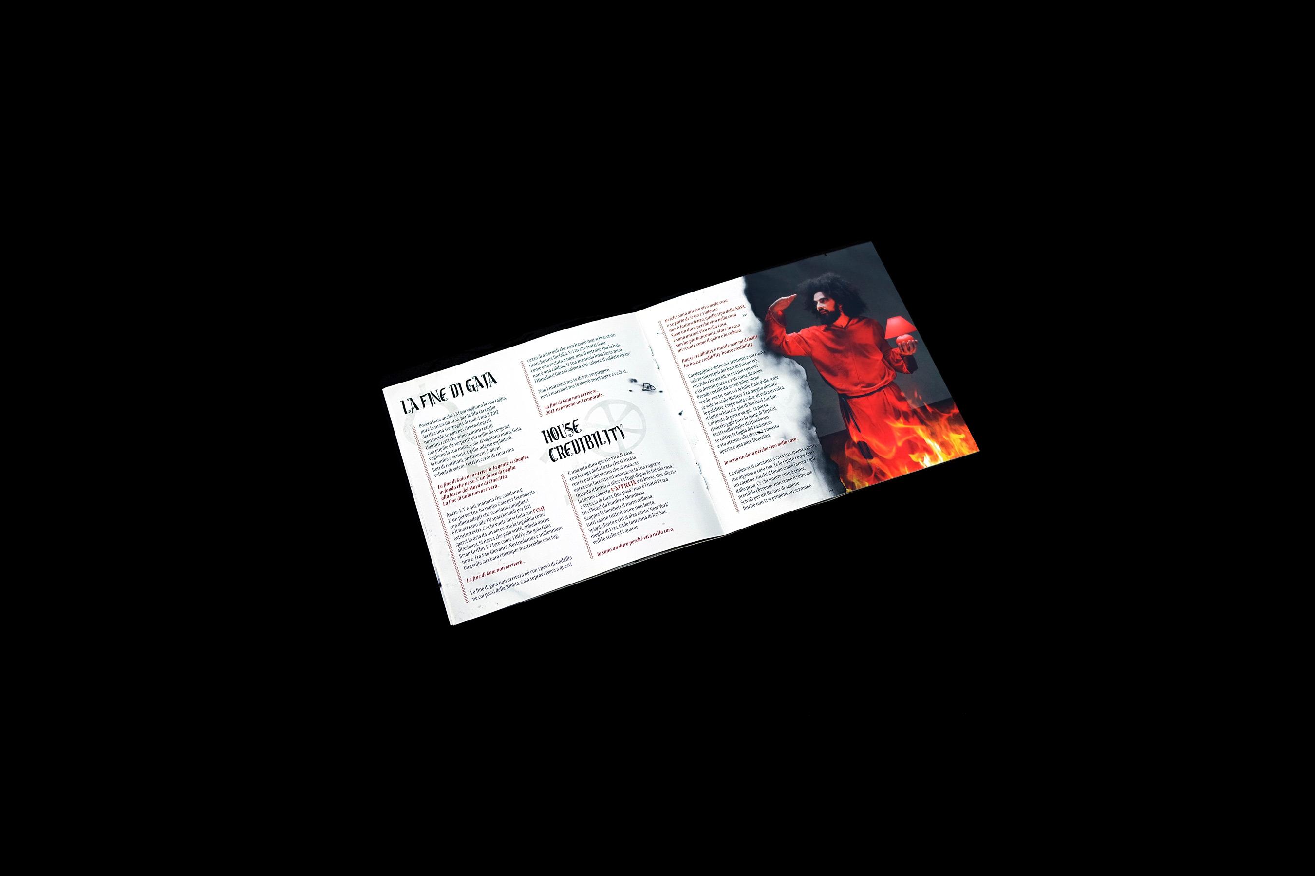 Sogno Eretico Booklet