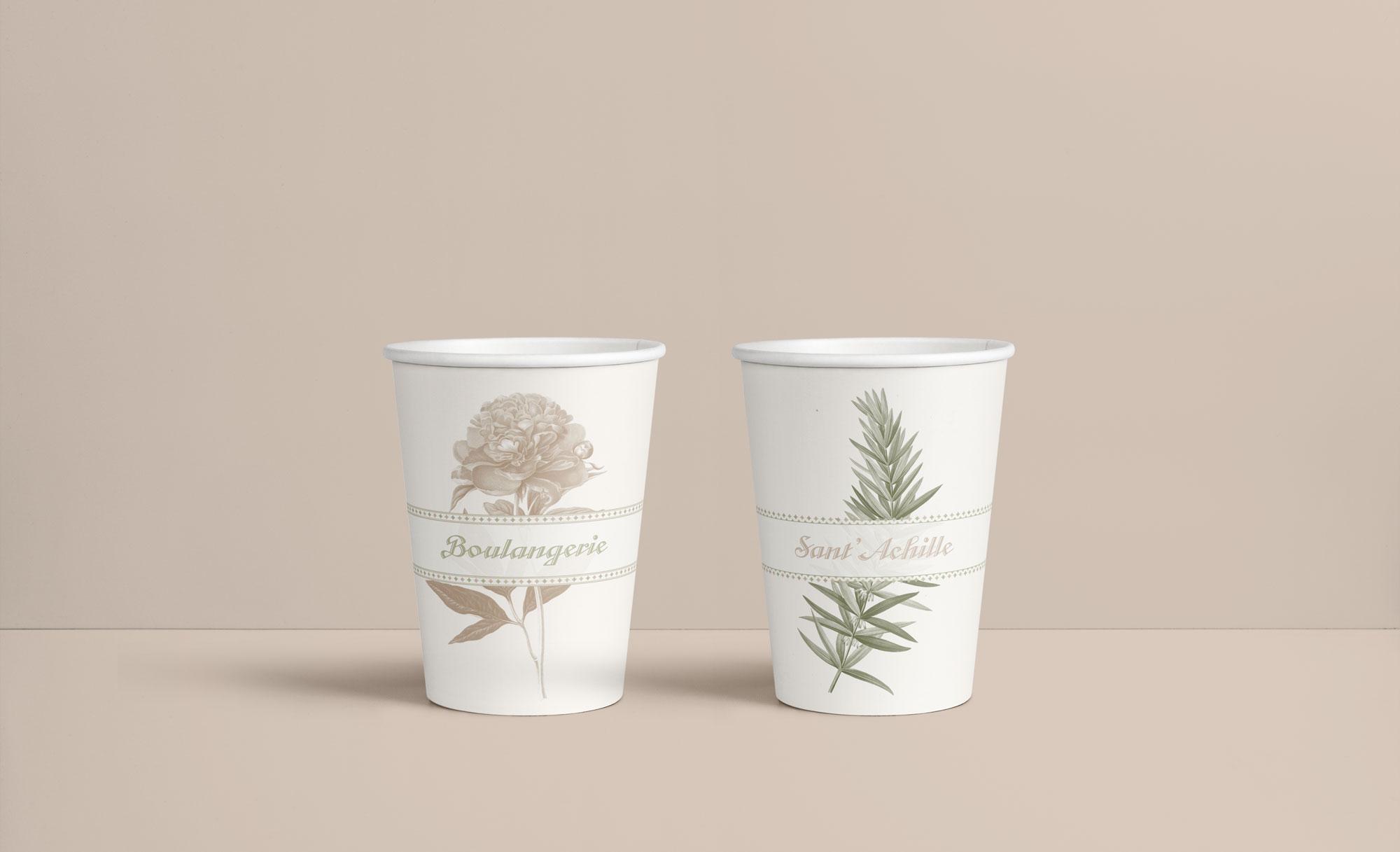 Grafica Packaging Boulangerie Sant'Achille Molfetta