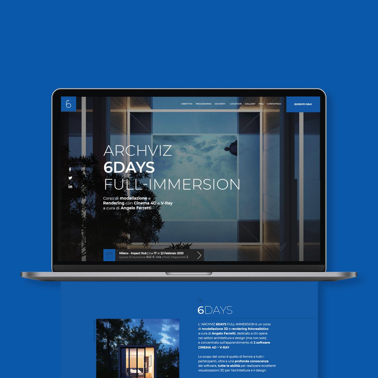 Archviz 6DAYS Full-immersion web design labbestia