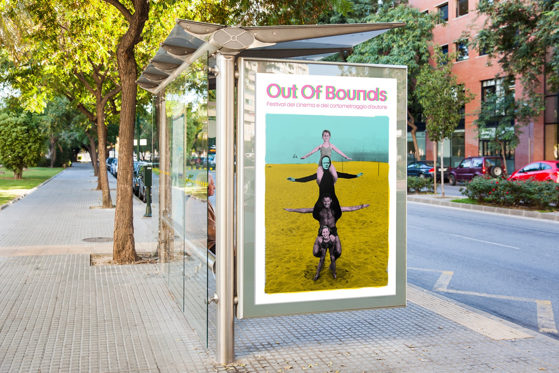 Campagna comunicazione Out of Bounds Film Festival