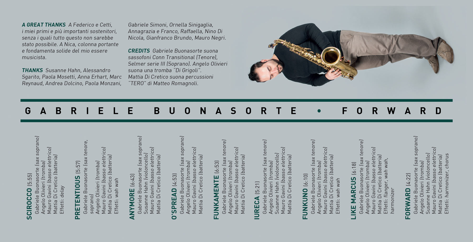 Gabriele Buonasorte Booklet