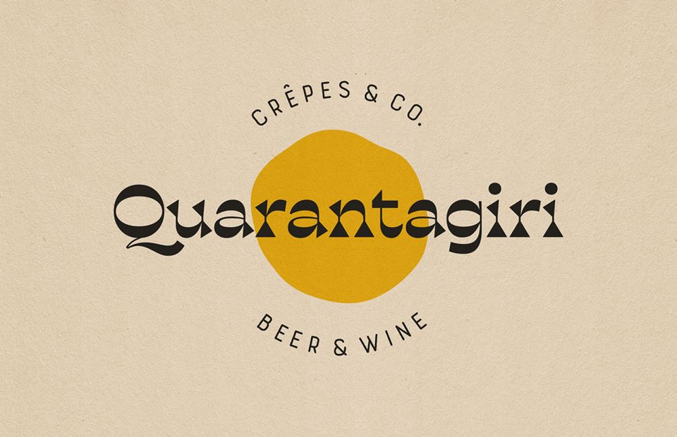 Quarantagiri Crêpes & Co. Logo