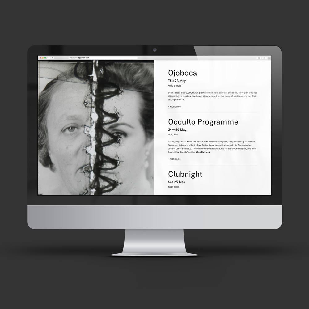 Sito web Fracto Film